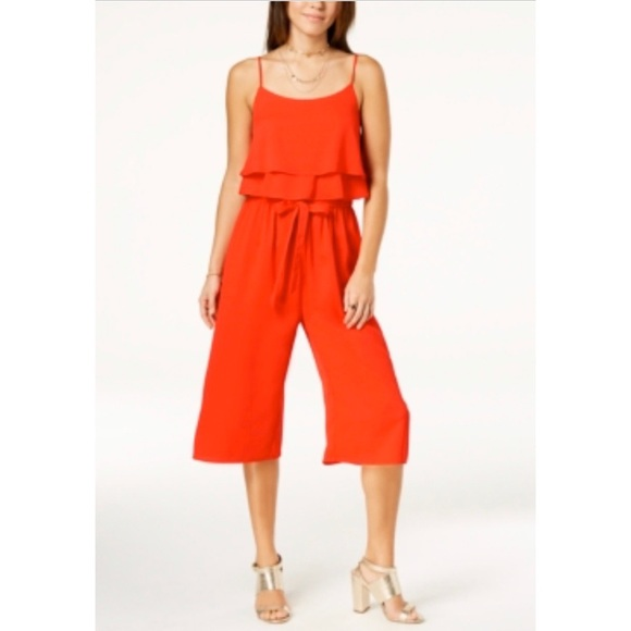 one clothing Pants - One Clothing Ruffled Pullover Jumpsuit